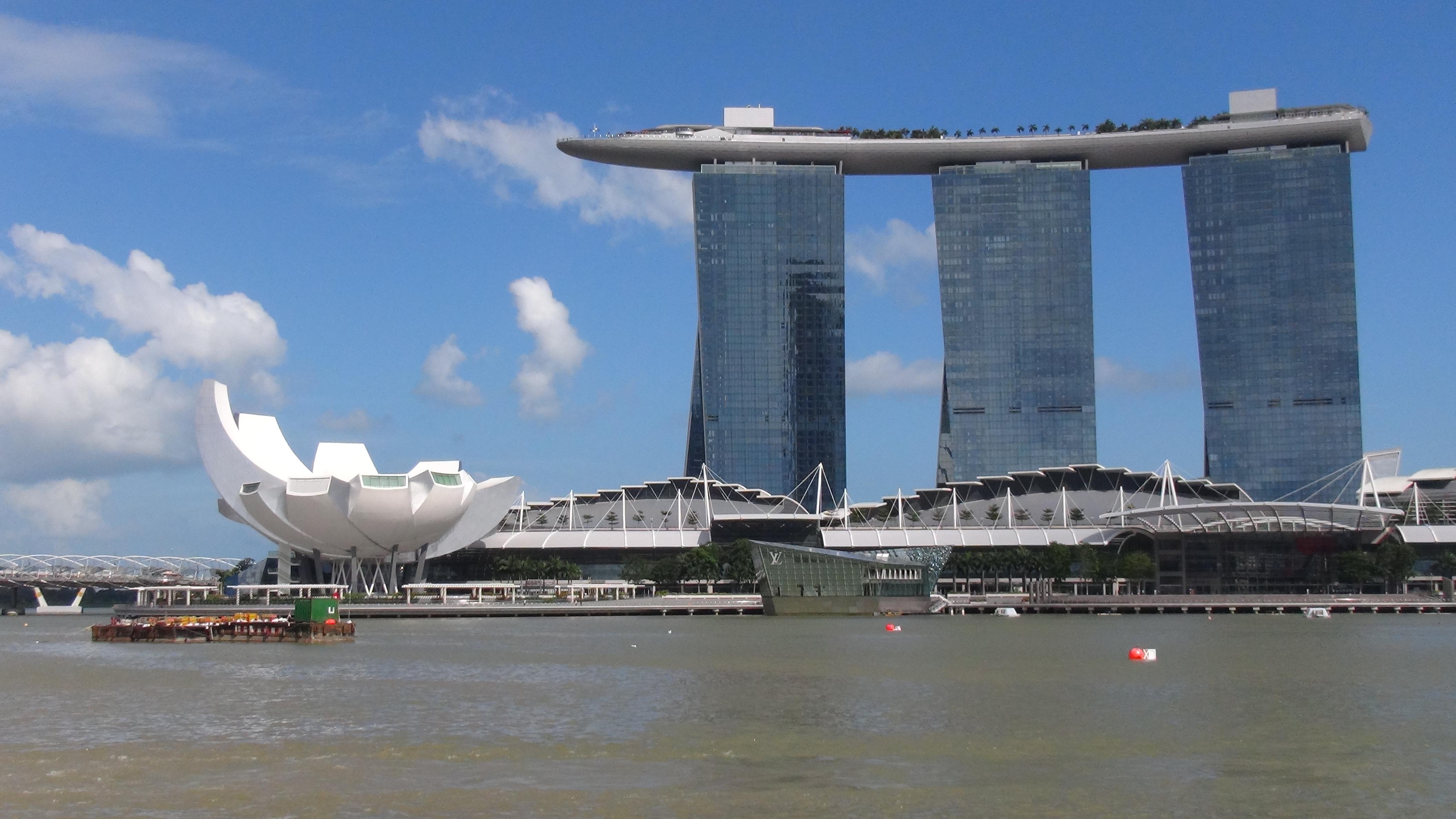 Singapour si la terre est ronde for Singapour hotel piscine sur le toit